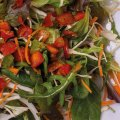 4002 Gartensalat: Mischsalat, Paprika, Petersilie